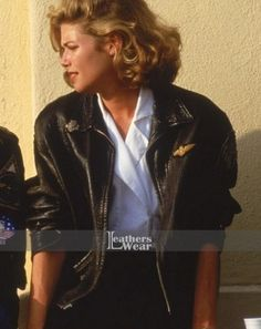 Top Gun Kelly McGillis (Charlie) Jacket