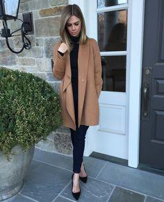 Kensington Way: Outfit: Black and Camel