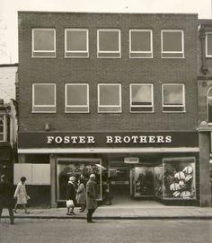Foster Brothers, High Street, Stourbridge, 1966