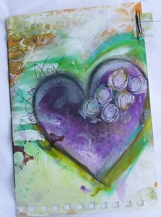 Mixed Media Journal by Robes-Pierre, via Flickr