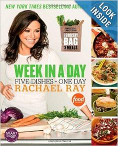 Week in a Day: Rachael Ray: 9781451659757: Amazon.com: Books