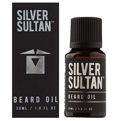 Beard Oil Silver Sultan by BeardCare Conditioning Oil for Beards, Goatee + Moustache Scented Softener Essential for Beard Care kit, Stops Beard Itch Jojoba Oil and Argan Oil. Makes a Beard Soft Mustache Grooming, Beard No Mustache, Argan Oil, Jojoba Oil, Beard Softener, Essential Oil Scents, Beard Care, Beard Oil, Hair Conditioner