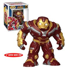 "Funko POP! Marvel Avengers: Infinity War #294 6"" Super-Sized Hulkbuster (2018 Movie) - New, Mint Condition. https://www.supportivepc.com/funko-pop-marvel-avengers-infinity-war-294-6-super OR https://www.supportivepc.com/collectibles-pop-culture-toys/avengers-infinity-war/ #Funko #FunkoPop #Marvel #Avengers #InfinityWar #AvengersInfinityWar #Collectibles"