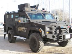 Ottawa Police BearCat. Our Tactical armoured vehicle was the 1st BearCat in Canada in 2010 w/enhanced protection for police during high risk operations.  ---  Véhicule blindé du Service de police d'Ottawa avec une meilleure protection antiballes lors d'opérations à haut risque.