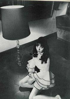 Jeanloup Sieff, Portrait of Anna Karina, for Vogue France - April, 1968