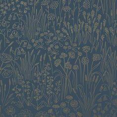 Alpine Garden Wallpaper - Tonal