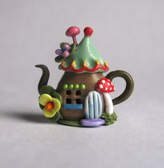 Hey, I found this really awesome Etsy listing at https://www.etsy.com/listing/266967100/handmade-miniature-fairy-whimsy-house