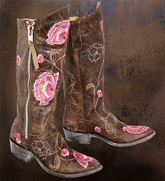 Cowgirl Boots @Callie Grider.  I saw these and thought of you. :-)