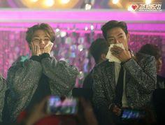 151107 Daesung and T.O.P at 2015 MelOn Music Awards