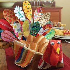 Easy Thanksgiving Crafts | easy thanksgiving activities : parsaon
