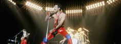 Guitarist Brian May has confirmed Queen will use a Freddie Mercury hologram on a West End theatre stage – and vows people will wonder if they really saw the star. John Deacon, Freddie Mercury, Madison Square Garden, Vogue Paris, Queen Lead Singer, Bbc, Concerts In London, Top 100 Songs, Las Vegas