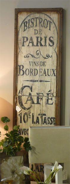 Bistro De Paris Sign By House Bvi