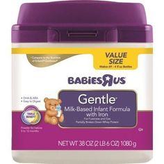 Babies R Us Gentle Infant Formula in Mess-Less SmarTub - 38oz