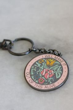 Alive Keychain – Stay Home Club