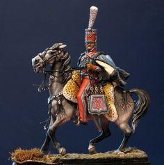 Colonel Brincard, Hussards Jerome Napoleon. By Enrico Azeglio