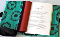 Last Minute Mother's Day Gift: Oilcloth Book Cover