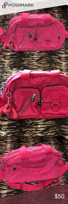 Hot Pink Kipling purse Hot pink kipling purse Kipling Bags Crossbody Bags
