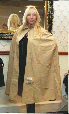 Lucy Lucy, Rain Cape, Rubber Raincoats, Pvc Raincoat, Raincoats For Women, Rain Wear, Lady, Women Wear, High Neck Dress