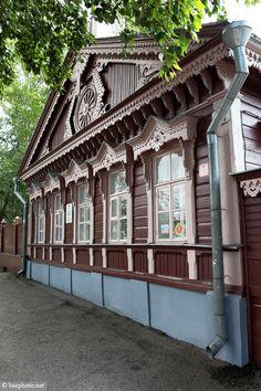 bezphoto: Wooden architecture of Russia: Ulyanovsk / Деревян...