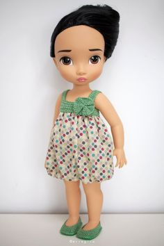 Disney Animators Collection doll Dress and Shoes.