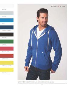 Basic Garment Dye or Pigment Dyed Fleece Hoodies