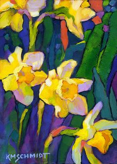 KMSchmidt Floral & Garden paintings