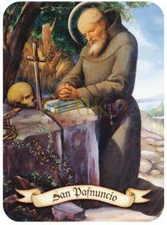 San Pafnuncio San Pafnucio (ca.251;† Egipto 360), discípulo de San Antonio. Pafnucio fue monje del monasterio de Pispir. Salió de él para ser obispo en una ciudad de la alta Tebaida cuyo nombre se … Mona Lisa, San Antonio, Artwork, Painting, Saints, Egypt, Prayers, City, Faith