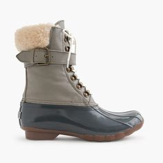 J.Crew - Women's Sperry® for J.Crew Shearwater buckle boots in colorblock