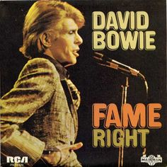 Fame - David Bowie (RCA 1975)