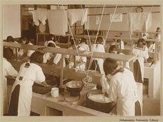 1936年 東京女子高等師範学校 洗濯