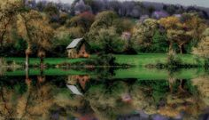 House reflection ...