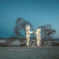 'Love' by Alexander Milov // Burning Man 2015