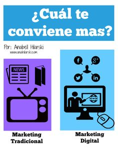 ¿Cuál es mejor Marketing Digital vs Marketing Tradicional? #Marketing #MarketingTips