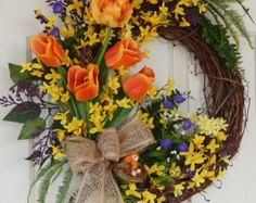 forsythia wreath - Google Search
