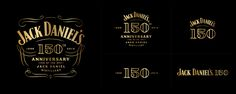 Jack Daniel's 150th Anniversary — The Dieline - Branding & Packaging Design