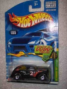 2002 Treasure Hunt #8 Fat Fendered 40 Glossy Black #2002-8 Collectible Collector Car Mattel Hot Wheels by Hot Wheels. $6.75. Perfect Hot Wheels Diecast for every collector!. A Perfect Addition To Any Hot Wheels Collection!. Great Investment For Any Hot Wheels Collector.. Diecast Metal Hot Wheels Car Perfect For That Hot Wheels Collector!. Fun For All Ages! Serious Collectors And Kids Alike!. 2002 Treasure Hunt #8 Fat Fendered 40 Glossy Black #2002-8 Collectible Co...
