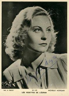 Michele Morgan Classic Actresses, Dame, Pin Up, Hollywood, Actors, Retro, Aquarius, Books, Films