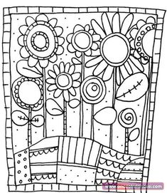 adult adult simple flowers coloring pages printable and coloring book to print for free. Find more coloring pages online for kids and adults of adult adult simple flowers coloring pages to print. Easy Coloring Pages, Flower Coloring Pages, Printable Coloring Pages, Coloring Sheets, Coloring Books, Mandala Coloring, Free Coloring, Kids Colouring, Simple Flowers