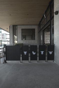 Retail Terrace seating, guardrail Storage Facility, Adaptive Reuse, Terrace, Retail, Bread, Building, Home Decor, Balcony, Decoration Home