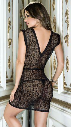 #lingerie #black #Espiral