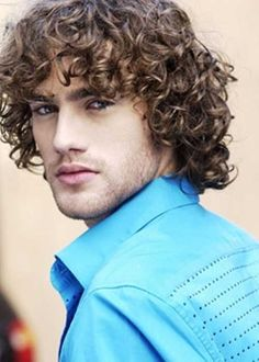 Girls aren't the only ones rocking curls these days! Guys have embraced their natural texture too and those with naturally straight mens hair have even opt