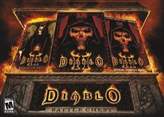 BUY NOW Diablo Battlechest [New Version] Includes games Diablo II and Diablo II: Lord of Destruction expansion and strategy guides for both