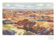 Painted Desert Art Print at Art.com