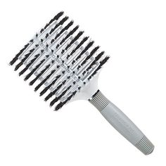 """$26.99-$37.99 Olivia Garden 4 1/2"""" Mega Ceramic Ionic and 100% Boar Bristles Round Vented Hair Brush - 4 1/2"""" Mega Barrel Size for long hair. Ceramic and ION Coated Barrels, Vented for Faster Drying. 100% Natural Boar Bristles. http://www.amazon.com/dp/B000SSPYSW/?tag=icypnt-20"""