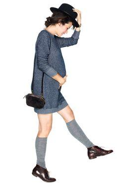 The Sweatshirt Dress http://mamasmolonas.com/hatch-collection-ropa-con-estilo-para-embarazadas/