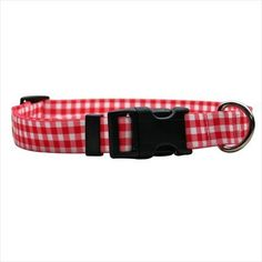 Gingham Standard Collar Size: Cat (0.38' x 8-12'), Color: Red -- Continue to the product at the image link. (This is an affiliate link and I receive a commission for the sales)