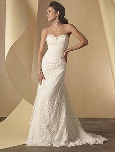 Alfred Angelo 2208 Wedding Dress, Ivory Size 26W, Sale $594