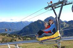 Alpine Coaster in Mieders, Austria