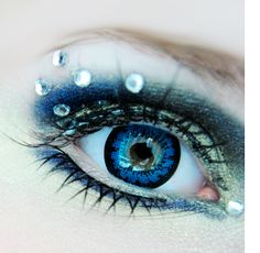 GEO Angel Blue 14.0mm circle contact lens (CM-832). These popular blue colored eye contacts are flattering on all skin tones. EyeCandy's has only 100% authentic GEO lenses. Buy now with free shipping: http://www.eyecandys.com/geo-angel-blue/