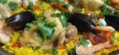 Easy Weeknight Paella KC Catering http://kccateringllc.com/easy-weeknight-paella/
